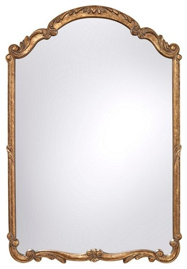 Antique Gold Mirror contemporary-mirrors