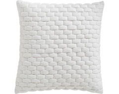 """Subway White 18"""" Pillow pillows"""