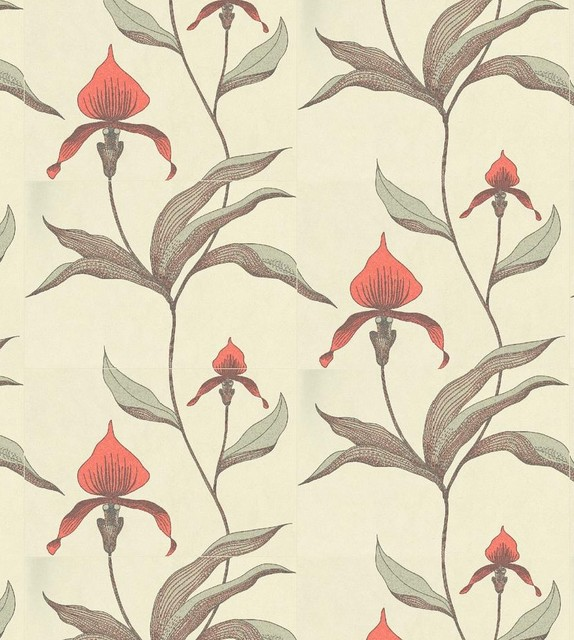 Orchid by Cole & Son eclectic-wallpaper