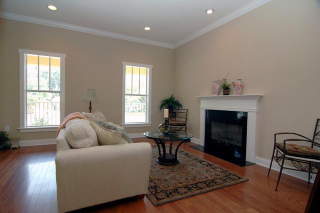 Ballast Point Custom Home traditional-living-room