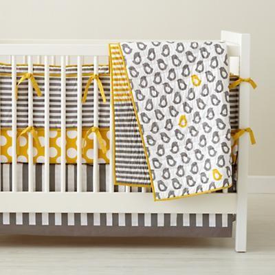 Not a Peep Crib Bedding contemporary-baby-bedding