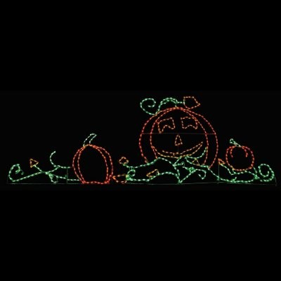 Brite Ideas Pumpkin Patch LED Display modern holiday outdoor decorations