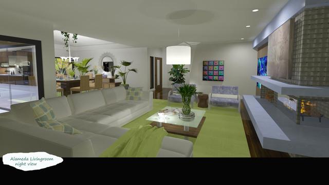 Alameda Residence contemporary-rendering