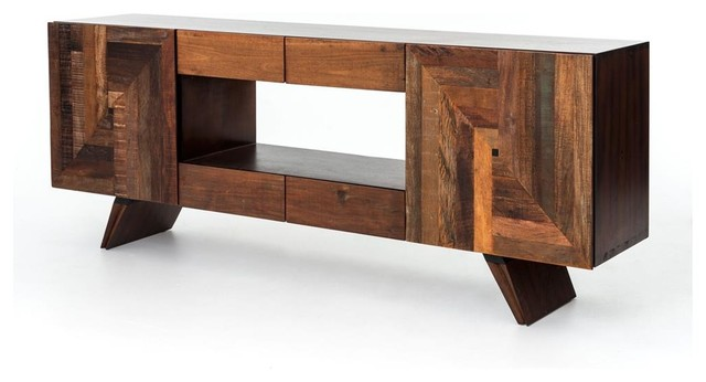 Rex Media Cabinet rustic-entertainment-centers-and-tv-stands