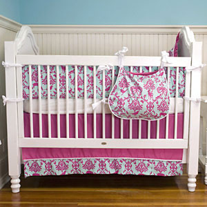 Maddie Boo Ava 3 Piece Crib Set modern-baby-bedding