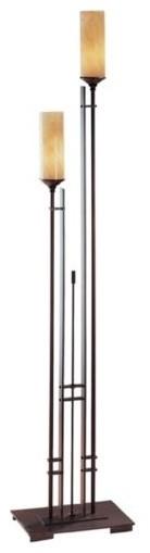 Metra Double Floor Lamp by Hubbardton Forge contemporary-floor-lamps
