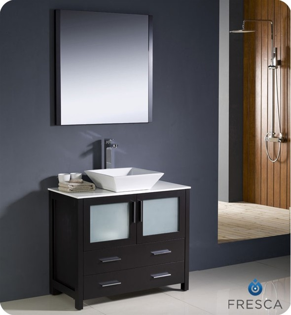 Vessel sink vanities contemporary chicago by vanities for bathrooms - Contemporary european designer bathroom vanities ...