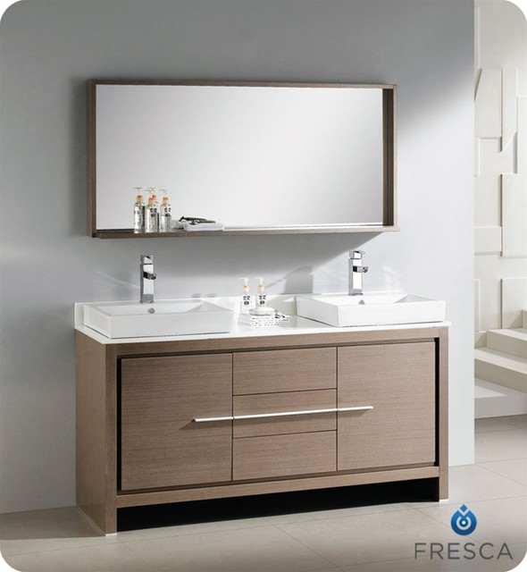 Floating Bathroom Vanities - contemporary - bathroom vanities and