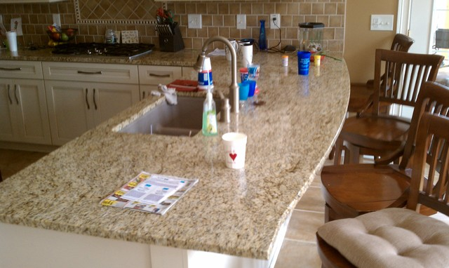 Helmart Countertop replacement #123 Santa Silvia - Traditional - Kitchen - cincinnati - by Jeff ...