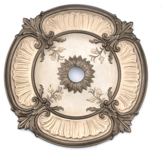Ceiling Medallions Painted Acanthus Ceiling Medallions