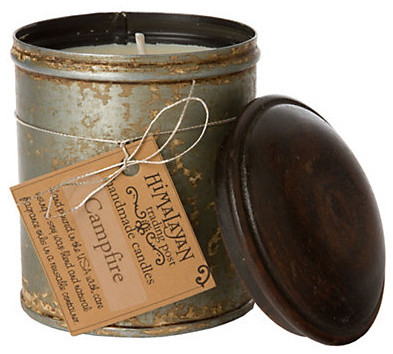 Spice Tin Candle eclectic candles and candle holders