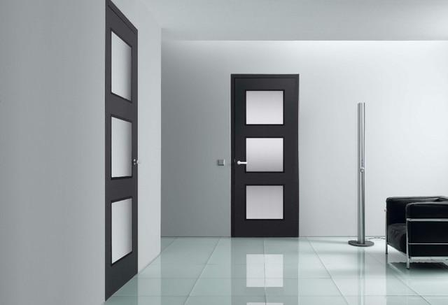 Custom doors contemporary interior doors other metro for Custom closet doors miami