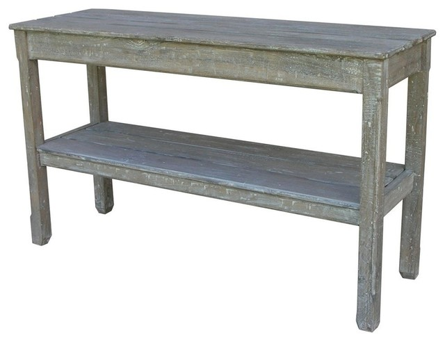 New Console Riverwash Painted RW-WHT Painted traditional-console-tables