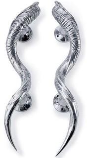 Regina Andrew Kudo Horn Door Handles - Traditional - Door Hardware - by Candelabra