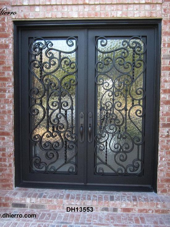 Iron Doors - Exterior - Double Iron Door