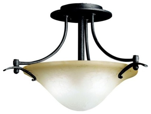 Pomeroy Semi-Flushmount contemporary ceiling lighting