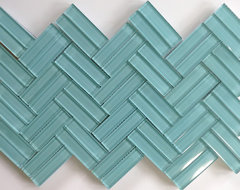 Modwalls Lush 1x 4 Pool eclectic bathroom tile