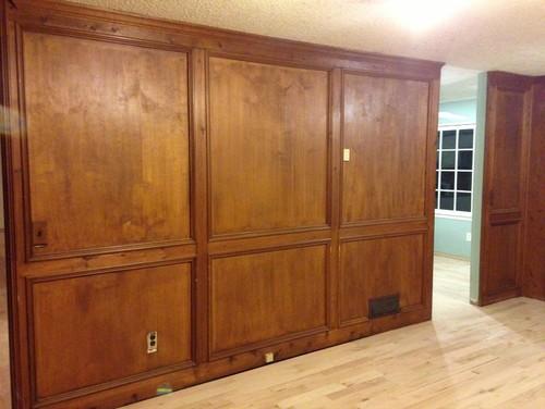 Painting wood panels