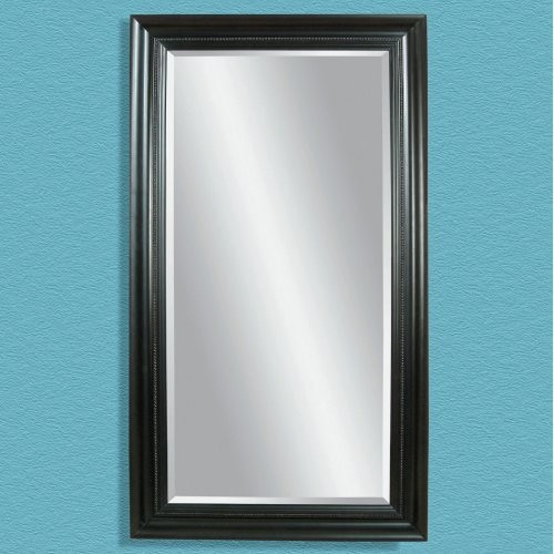Plantation Mahogany Leaning Floor Mirror - 42W x 80H in. contemporary-mirrors