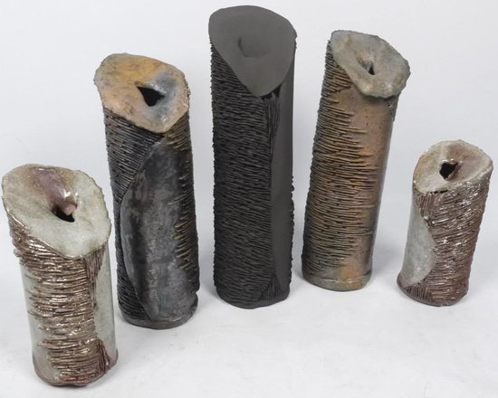 Beauty is in the Eye...cylinder collection - From left to right: