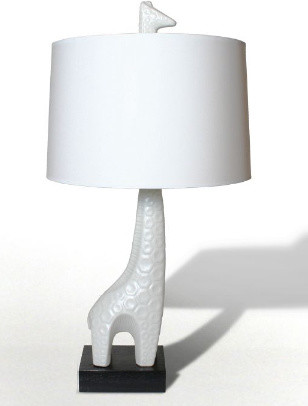 Jonathan Adler Giraffe Lamp in Table Lamps eclectic children lighting