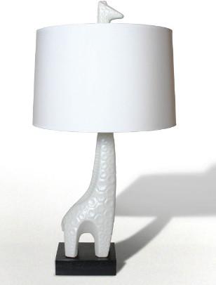 Jonathan Adler Giraffe Lamp in Table Lamps eclectic-kids-lamps