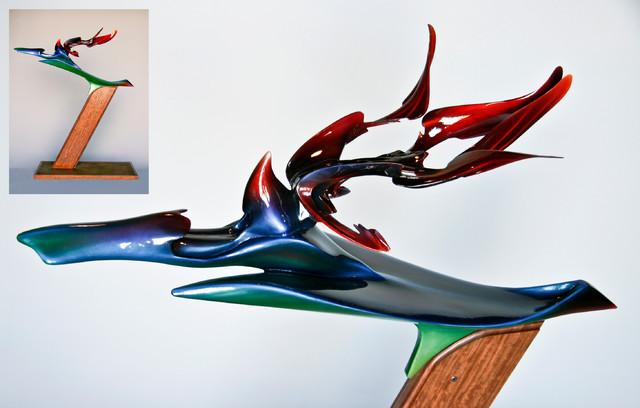 Metallo Fiore Due modern-artwork