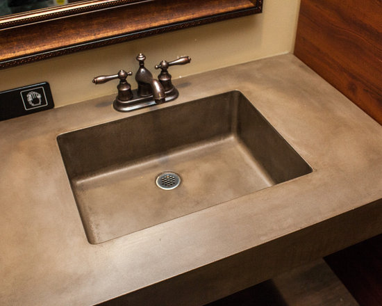 Concrete Bathrooms -