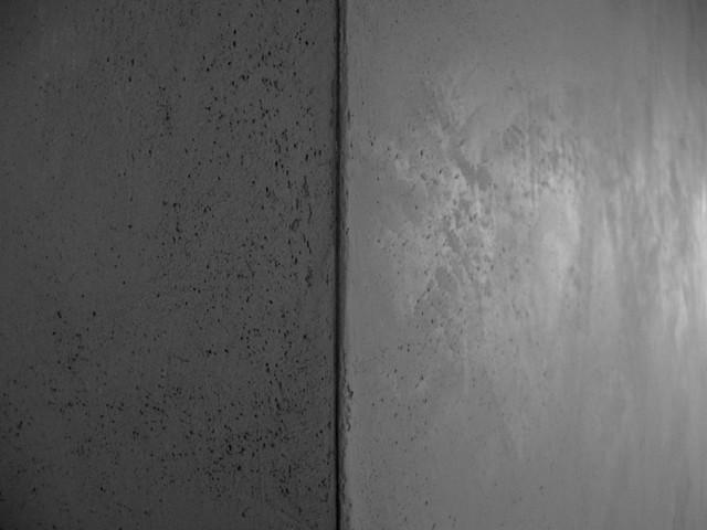 Silver leaf Ceilings & Marblestone walls.
