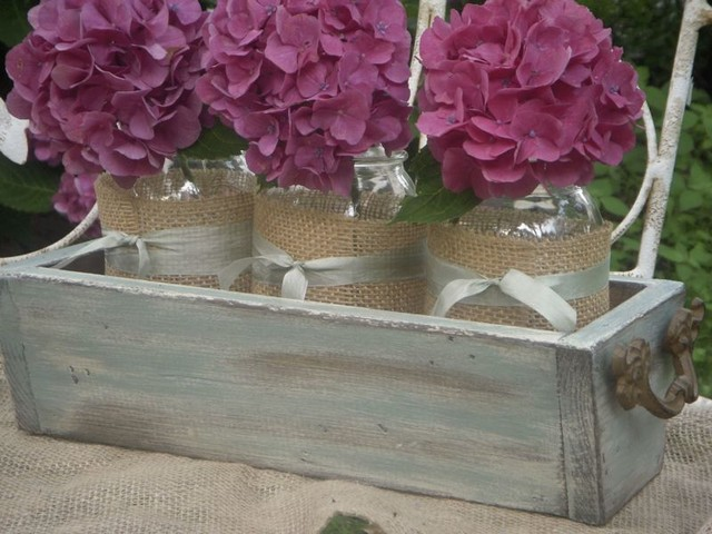 Rustic Chic Planters  accessories and decor