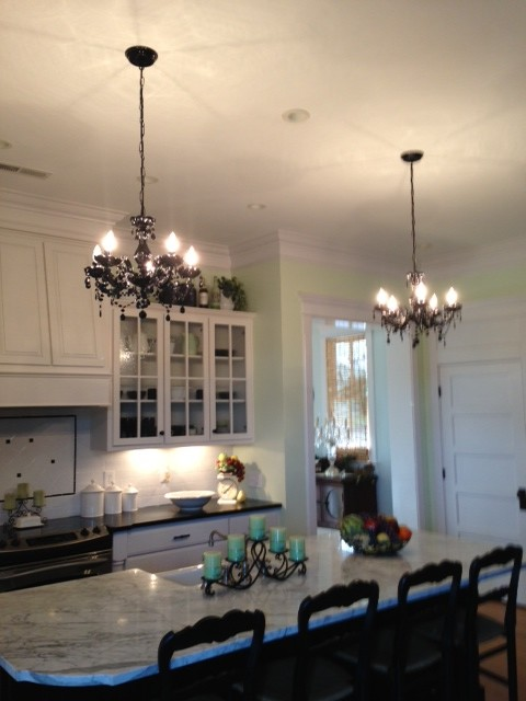 Residential Kitchen Farmhouse Chandeliers