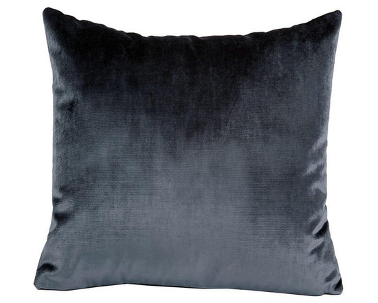 Yves Delorme - Iosis Berlingot Decorative Pillow, Daim, 13x22 - These sumptuous velvet pillows by Yves Delorme add gorgeous color and texture to any space. Decorative pillows feature a velvet front with a linen back and are filled with a feather down insert. Available in several colors and three different sizes. Made in France.Usually ships in 5-7 business days.