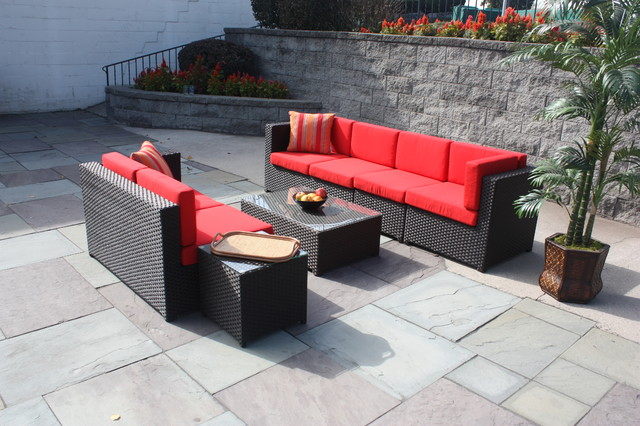 South Hampton Outdoor Wicker Furniture Contemporary Furniture New York By Wicker Paradise