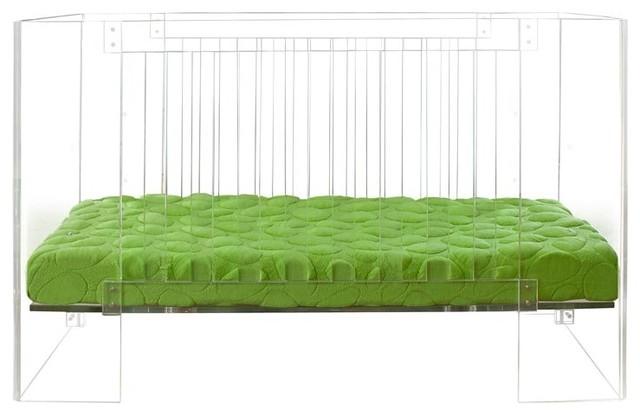 Vetro Crib, Clear modern-cribs