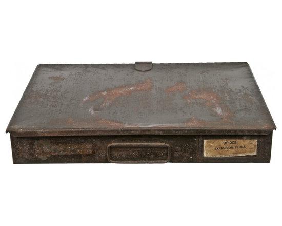 Plug Storage Case - Vintage BP-209 Bowman Products expansion plug assortment case.