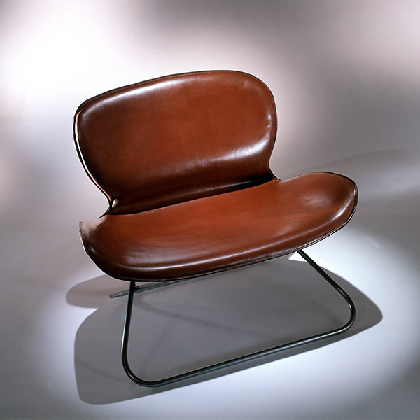K:5 Leather Lounge Chair by KOI modern chairs