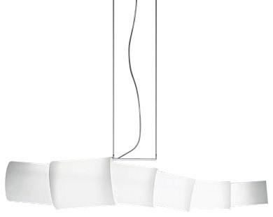 Artemide Noto Dimmable Suspension, Opal White modern-pendant-lighting