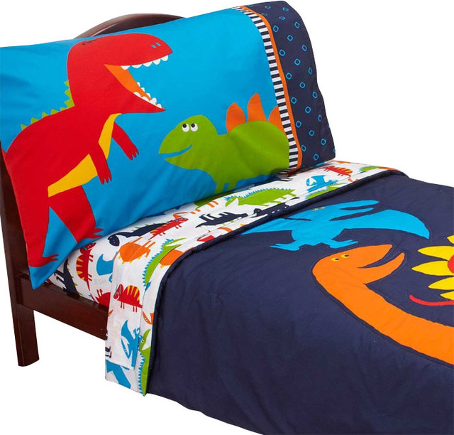 Dinosaur Toddler Bedroom Dino Multi Quilt Cover Set By Kas Kids