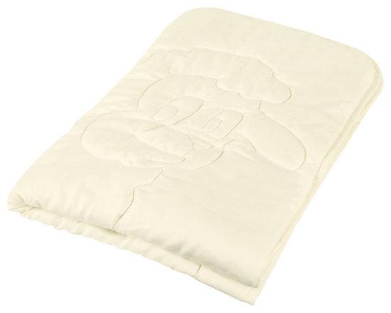Organic Crib Comforter -