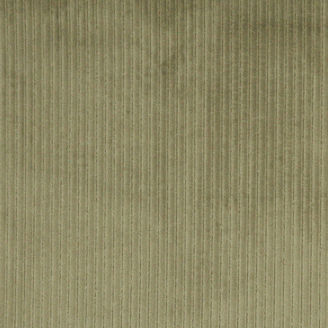 Green stripe corduroy velvet upholstery fabric by the yard for Corduroy fabric