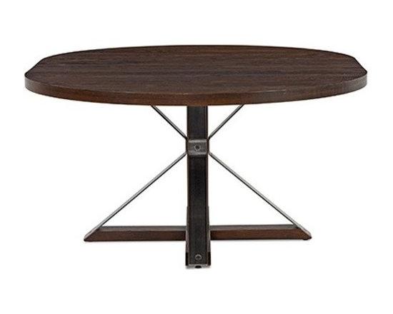 Saloom Furniture - Saloom Furniture | Cambridge Round Oak Dining Table - Design by Peter Francis.