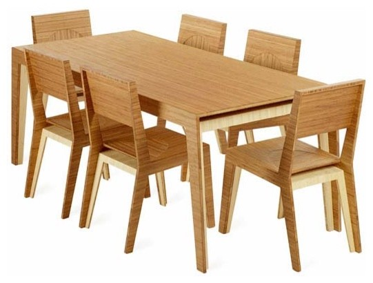 Hollow Dining Set by Brave Space modern love seats