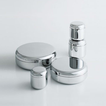 Alessi Tin Family Containers modern-food-containers-and-storage