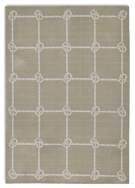 Nautical Knot Outdoor Area Rug Traditional Outdoor
