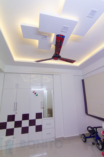 Kids Bedroom False Ceiling contemporary-bedroom