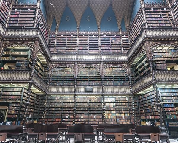 """""""Real Gabinete Portugues de Leitura"""" Limited Edition Print contemporary-prints-and-posters"""
