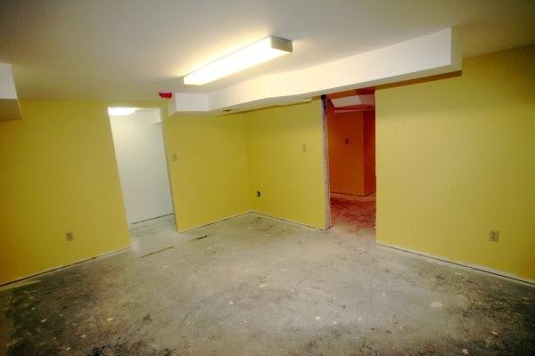 finished basement water damage restoration st charles mo