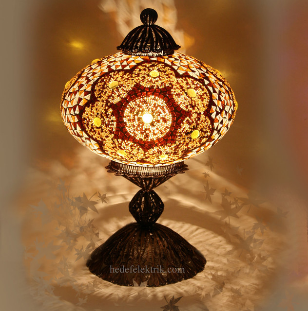 Turkish Style - Mosaic Lighting - Eclectic - Table Lamps - other metro ...