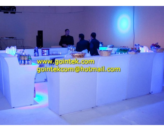 Nightclub LED Furniture With Light Color Changing -