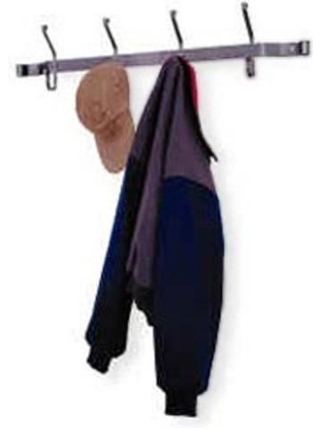 Bentley Metal Wall Coat Rack traditional-hooks-and-hangers